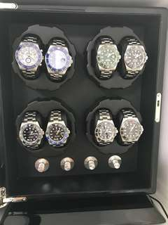Sale!!! Warehouse Clearance / Retail $500+ / Brand new 8 watch Winder / Free Extra watch Pillow