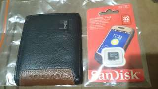 Dompet imperial horse dan sd card 32 gb