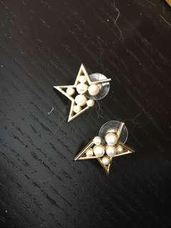 Star Earring 星星金耳環