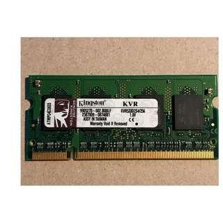 Kingston Memory Module  256MB DDR2