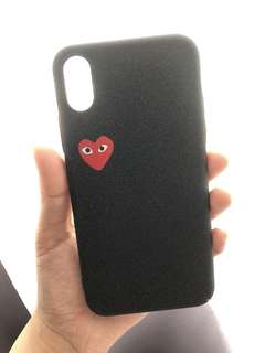 CDG IPHONE X PHONE CASE