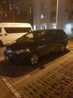 Honda shutter for grab night shift