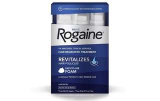 [IN-STOCK] Men's Rogaine Hair Loss & Hair Thinning Treatment Minoxidil Foam Three Month Supply
