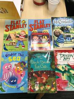 First readers including Flat Stanley and Julia Donaldson book