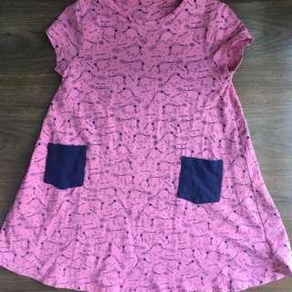 Girl's Dino Dress