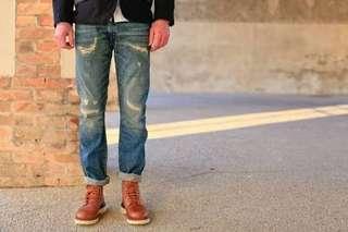 Neighbourhood nbhd x izzue skinny jeans