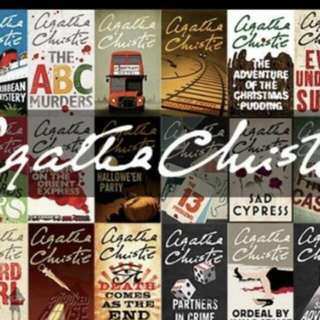 WTB Looking for Agatha Christie's Books