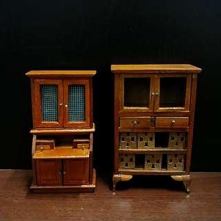中古 木製家具 古董 梳裝檯 懷舊 中式 擺設 油木 櫈  Antique furniture Chinese style rement