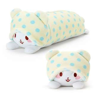 Japan Sanrio Marumofubiyori Mop Pencil Case