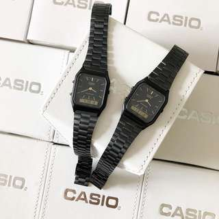 CASIO PETAK DUAL TIME WOMEN VIRAL LIMITED EDITION