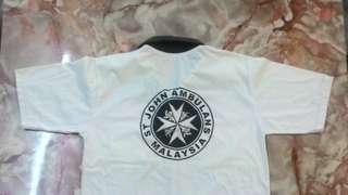 St. John Ambulans Malaysia T shirt