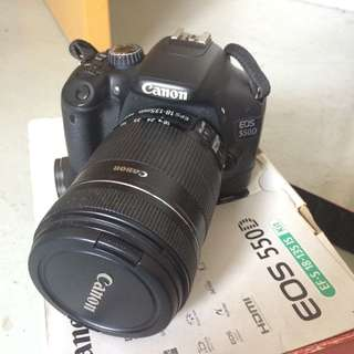 Canon EOS 550D (EF-S 18-135mm F/3.5-5.6 IS Kit Lens)