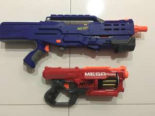 Nerf modded longshot and cyclonshock