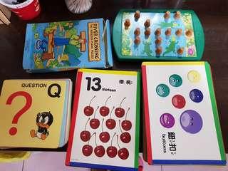 桌遊+學習卡