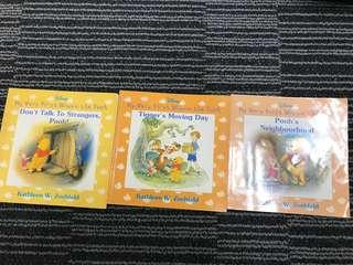 Winnie the Pooh booksx3