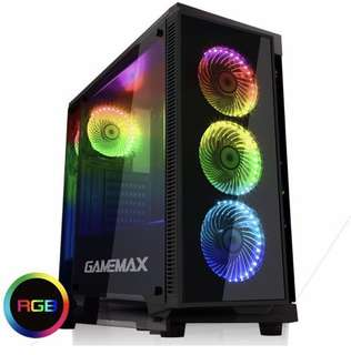 Gamemax Draco Black RGB ATX Casing