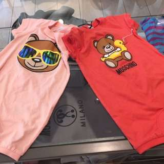 Moschino baby clothes 6-9 個月bb 夾衣