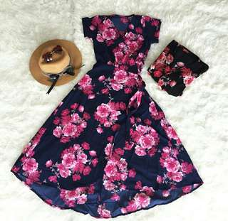 D621 Floral Dress
