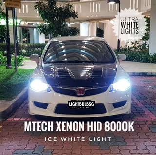Honda FD - 8000k ultra white xenon HID bulbs. Fits Volkswagon AUDI A3 A4 A5 A6 Q3 Q5 BMW F30 F10 Mercedes. Not Philips & Osram Size: D1S D2S D3S D4S D2R