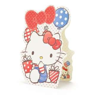 Japan Sanrio Hello Kitty Character type Multipurpose Card