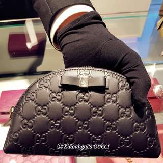 🔴50%➡️ FOLLOWERS HAS ONLY! (Chat Nw!)🔴✖PRICE NOT APPLICABLE to Non-followers✖👜AUTHENTIC BRAND NEW +RECEIPT👜🌹LIMITED EDITION🌹GUCCI Mystery Black Comestics Make-up Pouch Bag💋No Pet No Smoker CLEAN hse💋