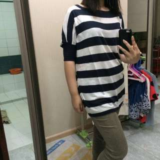 Sweater T-Shirt Stripes