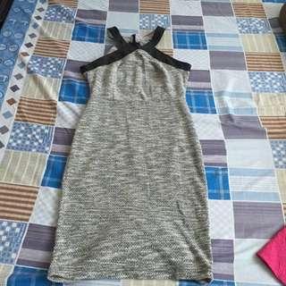 Haltered Knitted Dress
