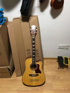 Used solid TOP acoustic guitar