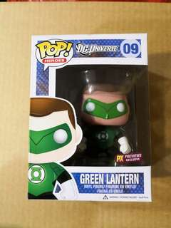 Funko pop Green Lantern PX Preview Exclusive
