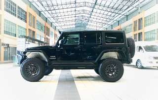 Jeep Wrangler 3.6 Unlimited Sports Marvin Edition