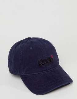 SUPERDRY ORANGE LABEL CAP (NAVY)
