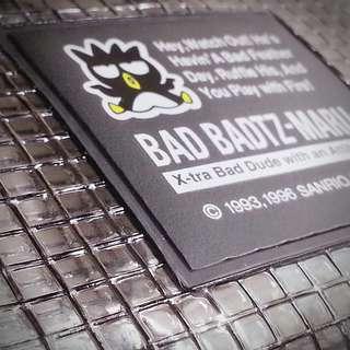 XO BAD BADTZ-MARU 1996年 散紙包 銀包 Made in Japan 980996