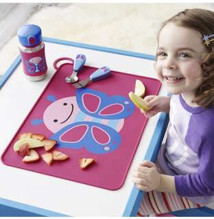 Skip hop zoo placemat-butterfly