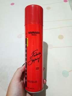 Barbara Walden Hair Spray & Nego Tipis