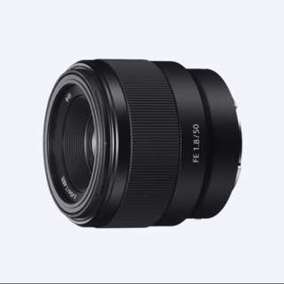 Sony FE 50mm F1.8 (excellent condition)