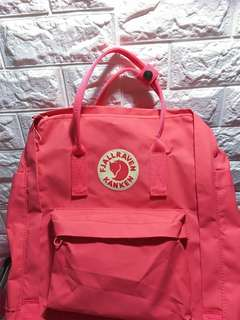 Kanken classical size backpack peach pink (100%real)
