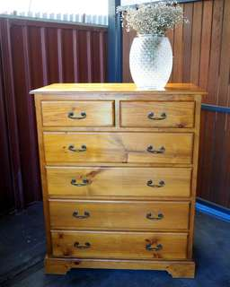 Stunning Vintage Tallboy/Chest of Drawers