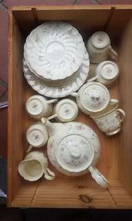 Porcelain Tea Set- Noritake Bone China
