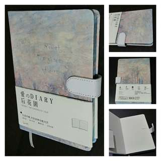 Journal / Diary with Monet-inspired Cover Design