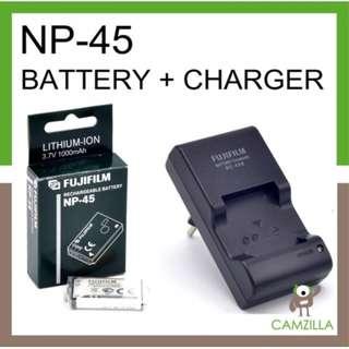 ORI FUJIFILM Rechargeable Battery NP-45+ ORI FUJIFILM BC-45 CHARGER