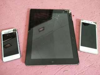 Dijual ipod, iphone dan hp polytron