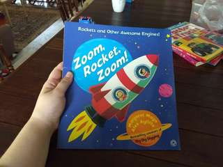 Zoom, Rocket, Zoom! By Margaret Mayo & Alex Ayliffe