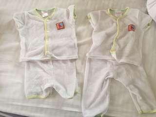 Baby Eyelet Pyjamas