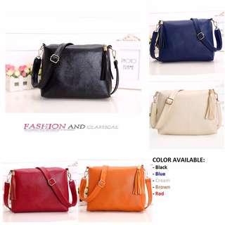Le Voue Korean Style 9207 Top Sale Casual Korean Sling Bag (5 colors)