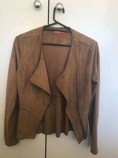 Valley girl suede jacket