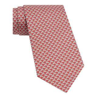 Salvatore Ferragamo jumping rabbit printed tie