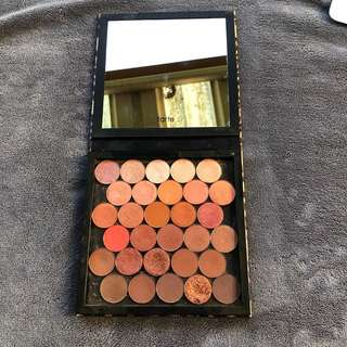 Tarte z palette with mix of morphe and OPV shadows