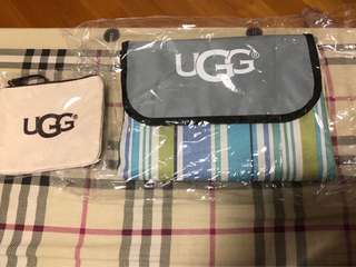 UGG picnic blanket outdoor waterproof 野餐墊 戶外 防水 送小物袋