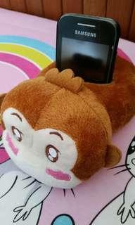 Monkey handphone holder