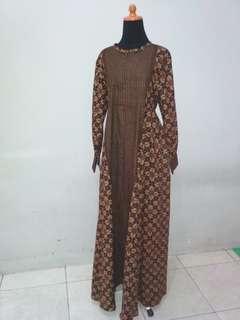 Longdress batik cirebon
